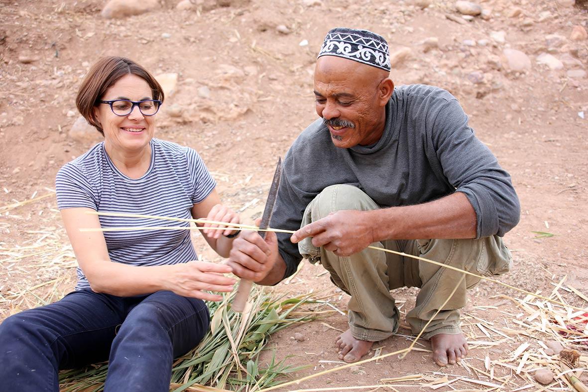 maroc artisanat partage