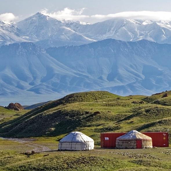 Circuit panoramas ouzbekistan kirghizistan