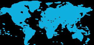 carte des destinations responsables Au Coeur Des Peuples