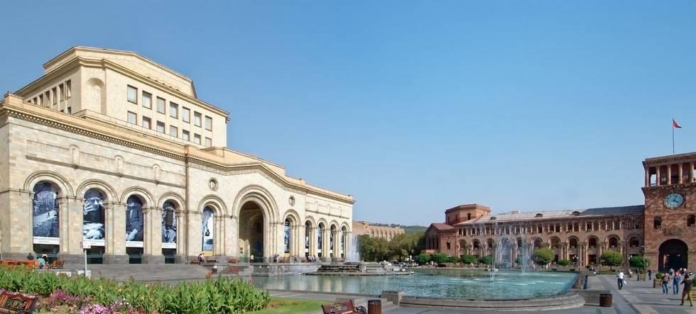 Musée des arts et de l'histoire à Erévan en Arménie