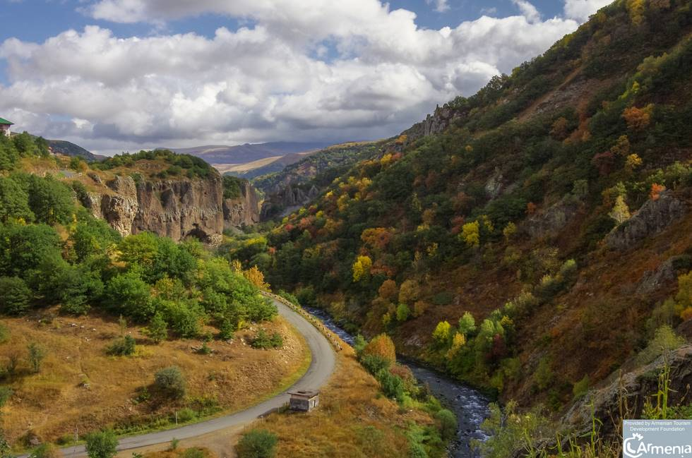 Paysage de montagne en Arménie