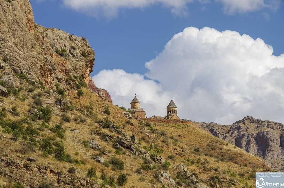 Monastère de Noravank dans la gorge de la communauté rurale d'Areni en Arménie