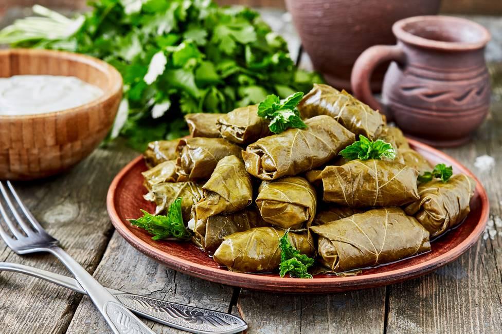 Feuille de vigne spécialité culinaire arménienne