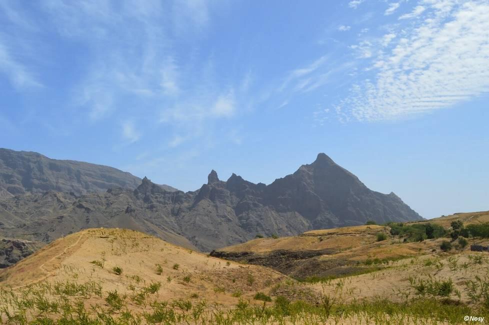 Paysage de l'île de Santo Antao au Cap-Vert