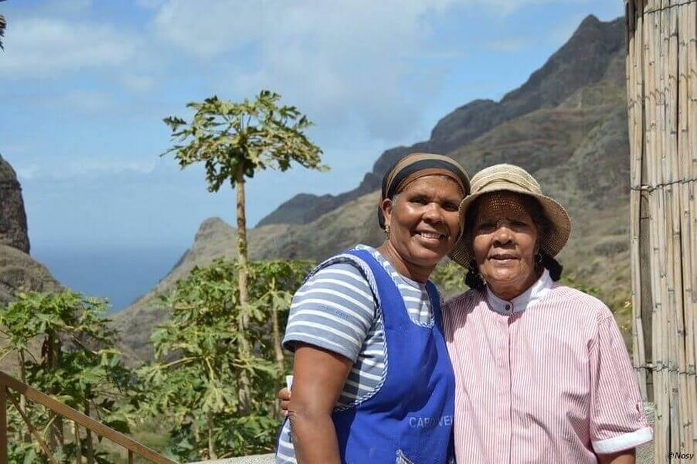 Habitant de l'île de Santo Antoa au Cap-Vert