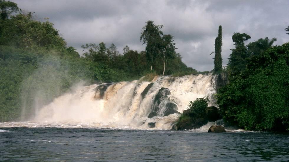 Chutes de la Lobé au Cameroun
