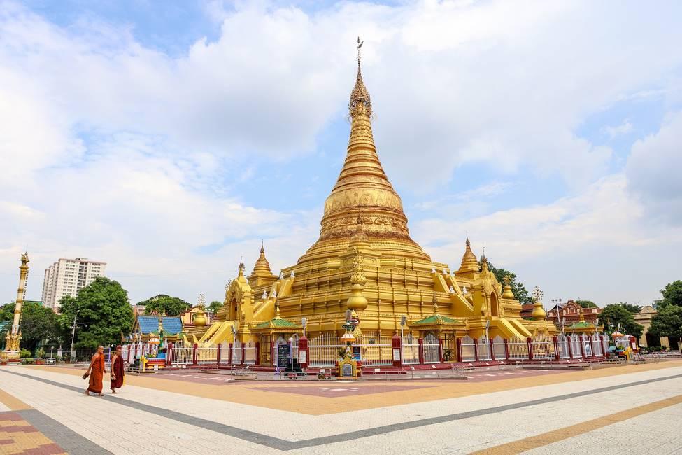 Pagode de Mandalay en Birmanie