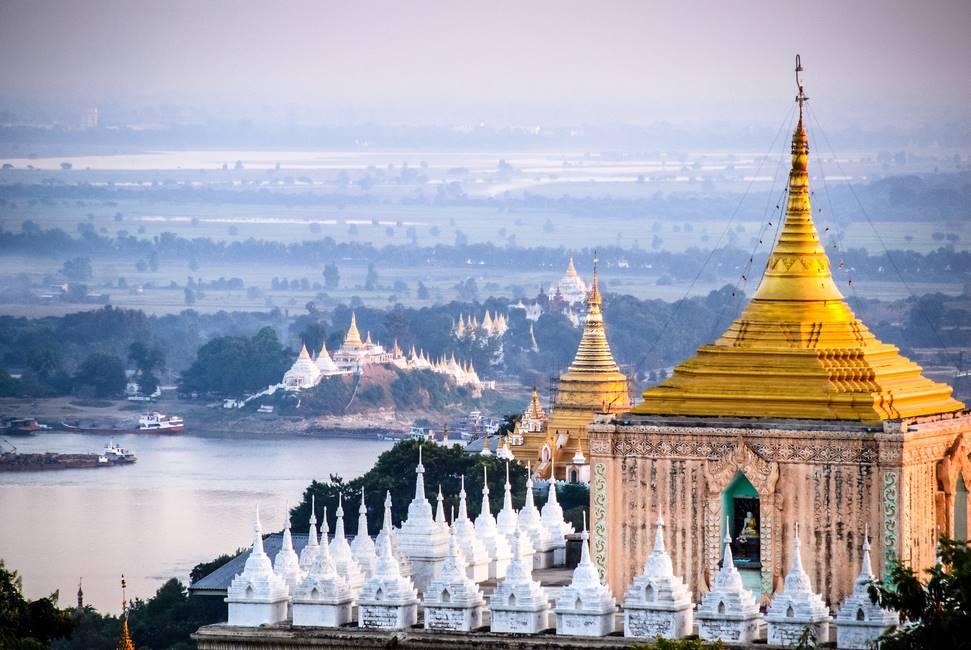 Les mille pagodes de Mandalay en Birmanie