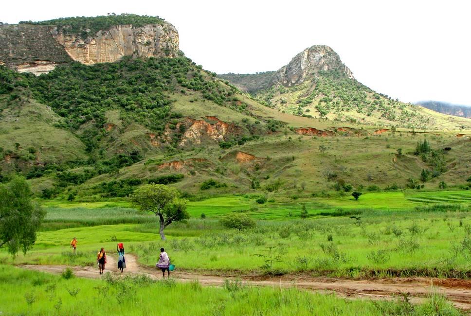 Paysage du parc national de l'Isalo