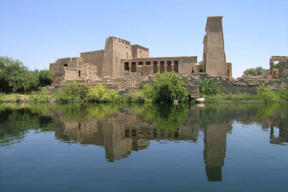Temple de Philae en Egypte