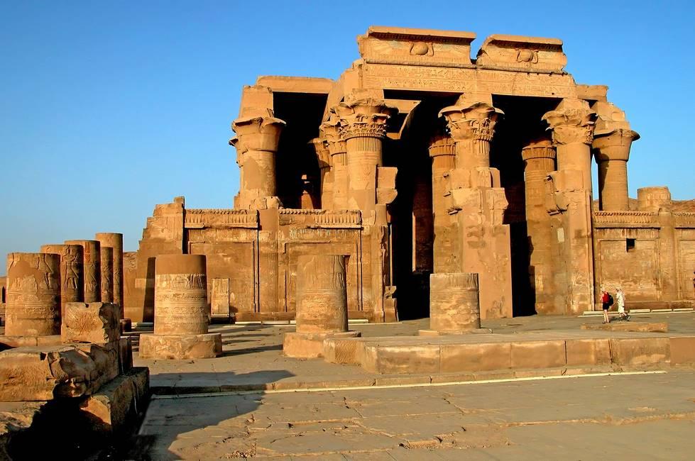 Vestiges du temple de Kom-Ombo en Egypte