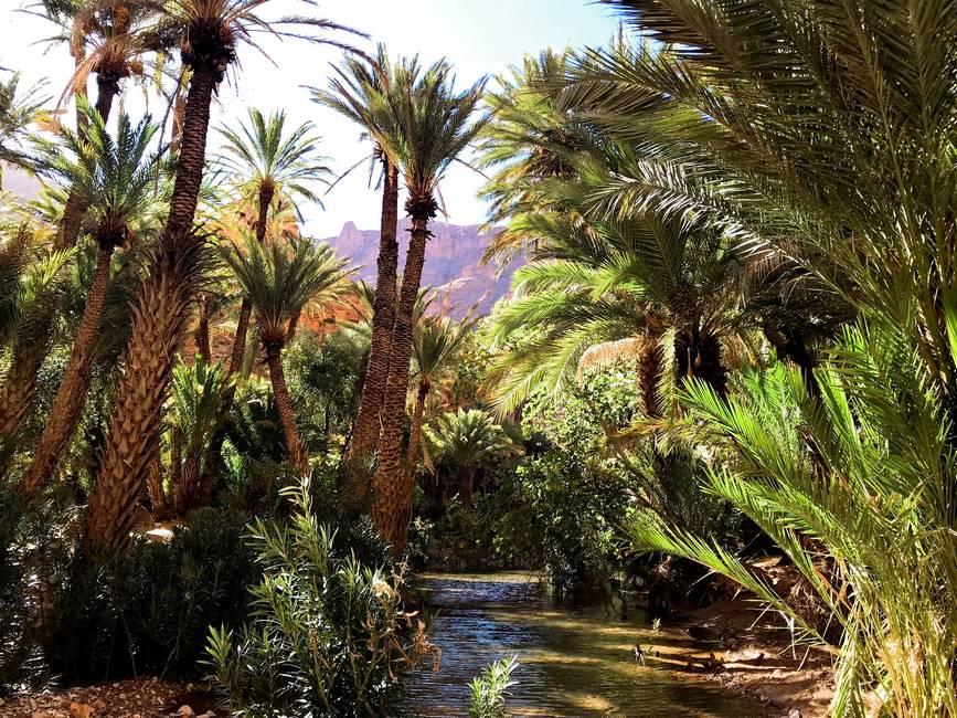 Gorges d'Aït Mansour à Tafraoute au Maroc