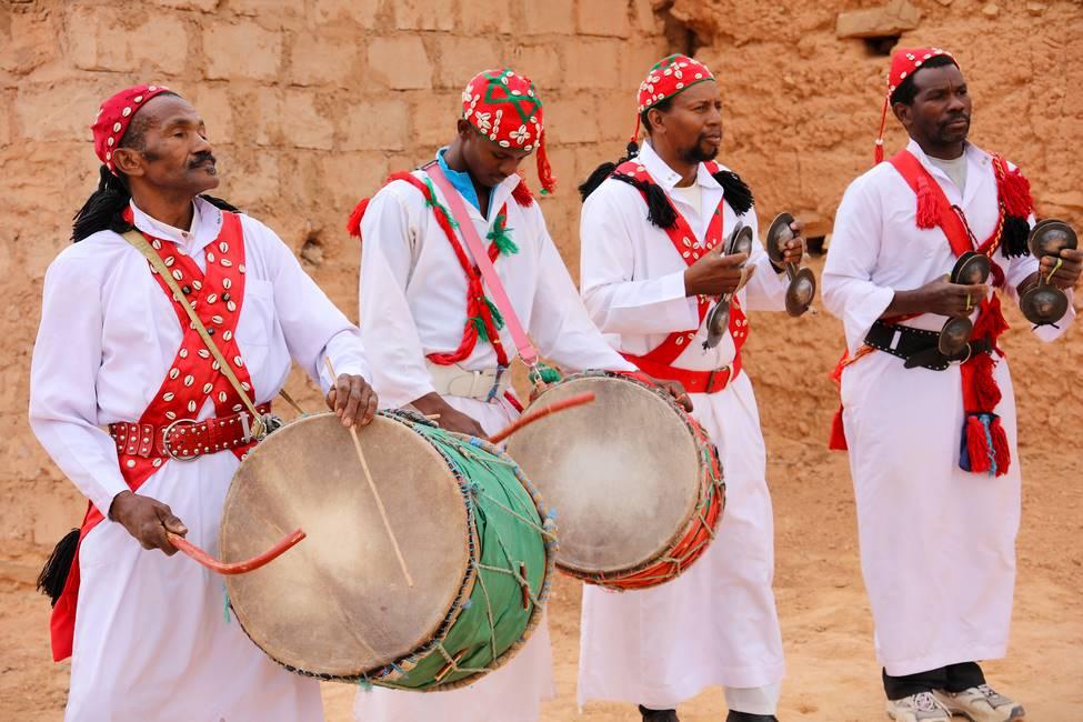 Musique et danse gnawa à Errachidia au Maroc
