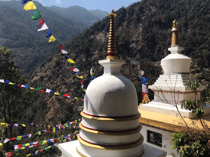 Stoupa dans le Langtang, Népal