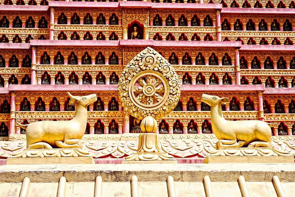 Temple bouddhiste à Katmandou, Népal