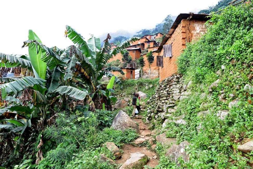 Village du Mont Agou au Togo