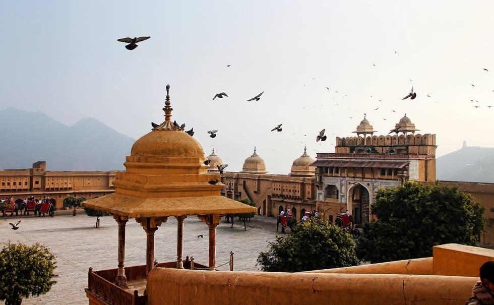 Fort Amber à Jaipur au Rajasthan