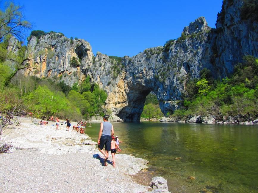 Gorges de l'Ardèche à Pont d'Arc