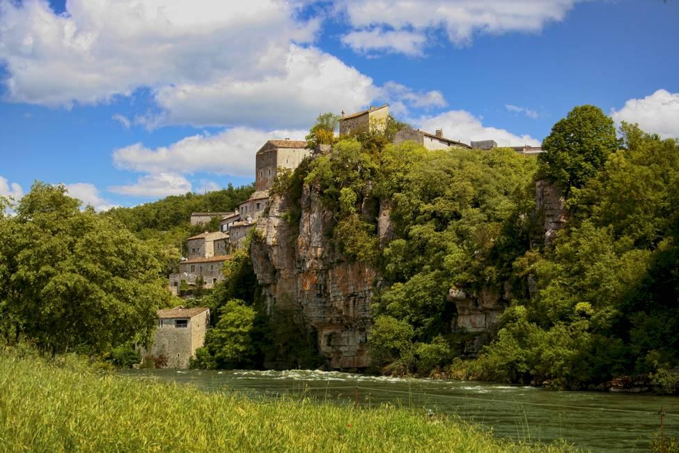 Gorges de l'Ardèche à Balazuc