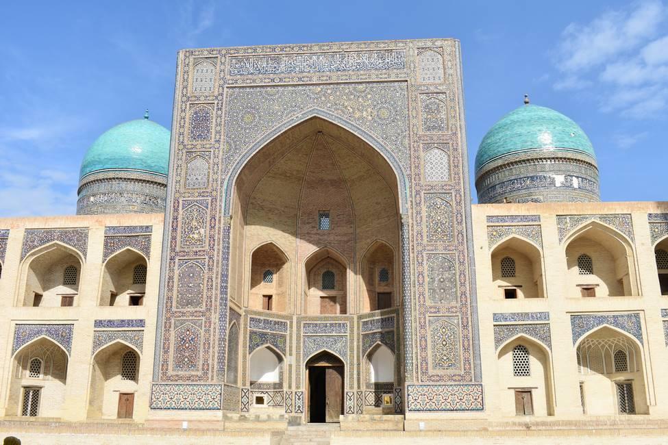 Médersa Mir-i Arab à Boukhara en Ouzbékistan