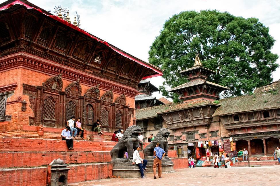 Patrimoine de Katmandou au Népal