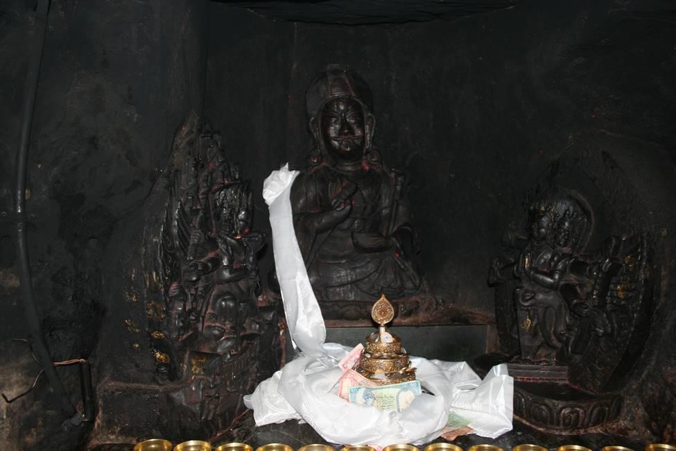 Grotte de Guru Rinpoché à Pharping, Népal