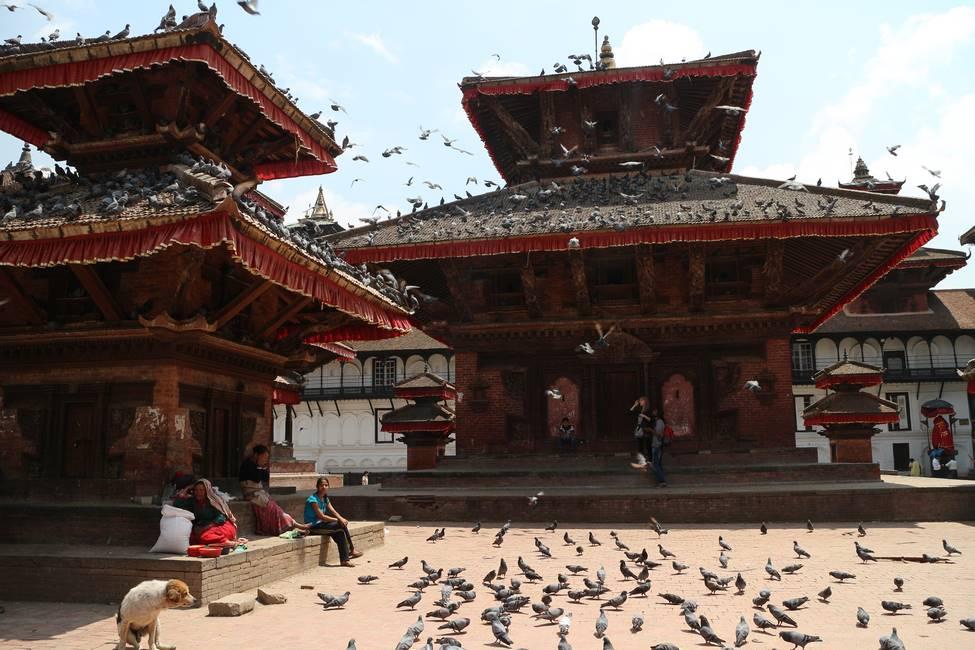 Dubar Square à Katmandou, Népal