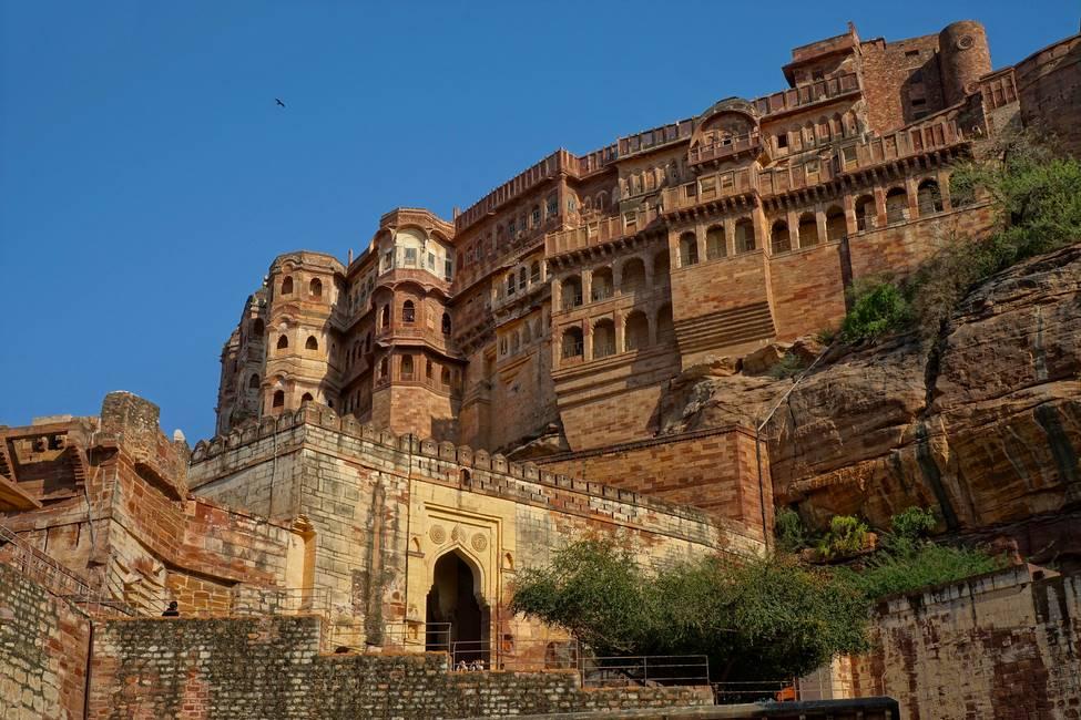 Fort de Mehrangarh à Jodhpur au Rajasthan