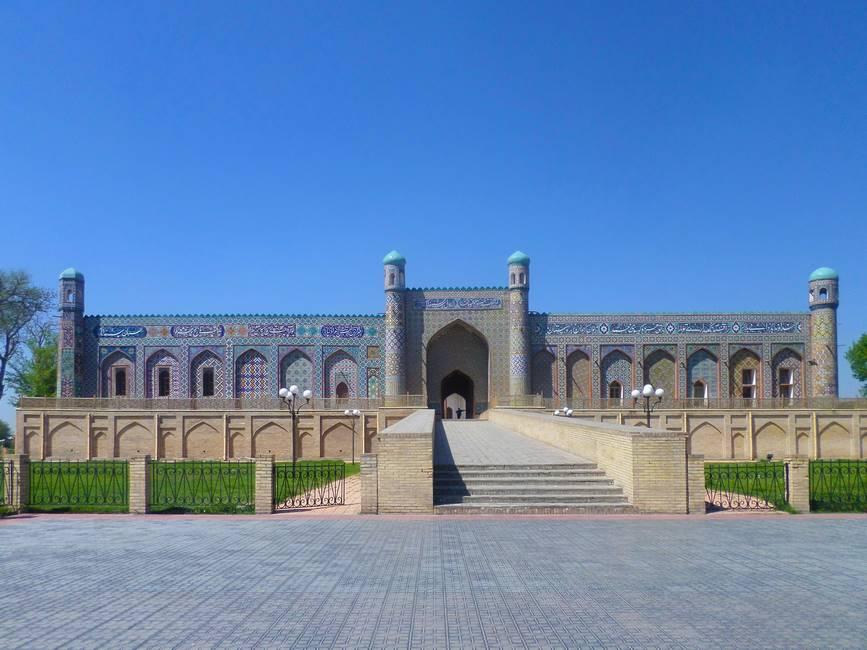 Palais de Khudayar Khan à Kokand dans la vallée de Fergana en Ouzbékistan