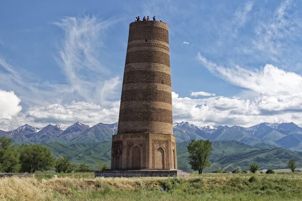 Tour de Burana au Kirgizistan