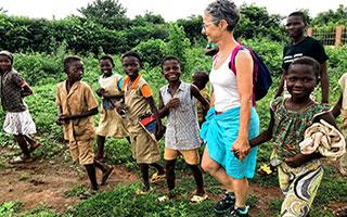 Immersion dans un village du Bénin