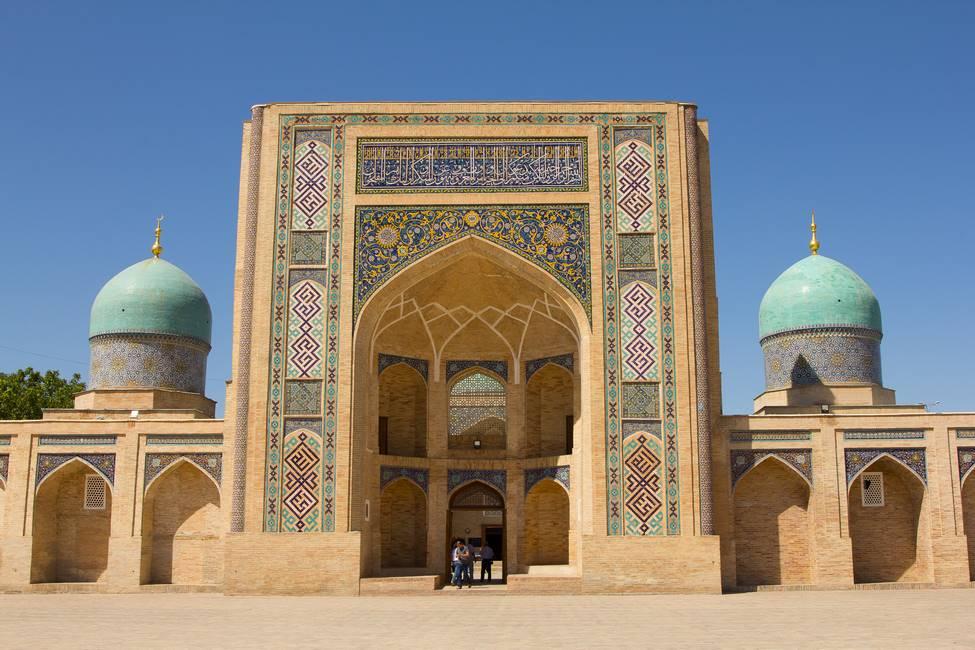 La médersa Barak Khan à Tachkent en Ouzbékistan