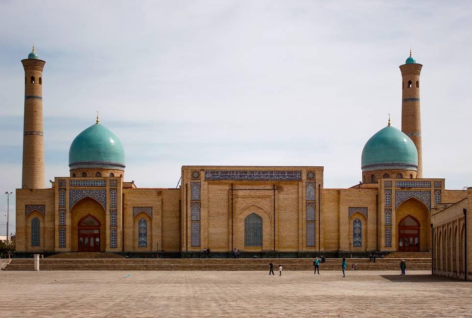 Mosquée de Tachkent en Ouzbékistan