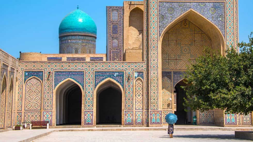 Complexe religieux islamique de Po-iKalyan à Boukhara en Ouzbékistan