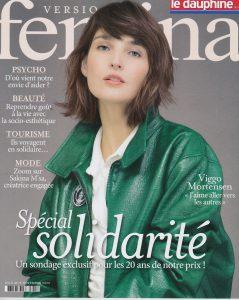 Couverture journal Fémina spécial solidartié